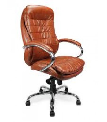 SANTIAGO LEATHER FACED EXECUTIVE ARMCHAIR