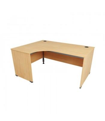 Astral Panel End Crescent Desk
