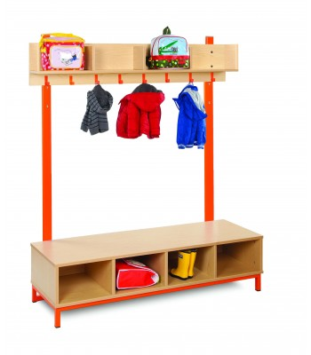 CLOAKROOM TOP WITH OPEN COMPARTMENTS