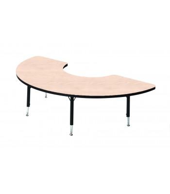 HEIGHT ADJUSTABLE ARC TABLES