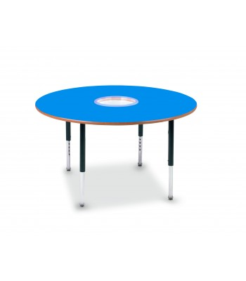 DOUGHNUT HEIGHT ADJUSTABLE TABLES