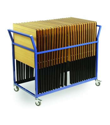 20 CAPACITY EXAM DESK TROLLEY