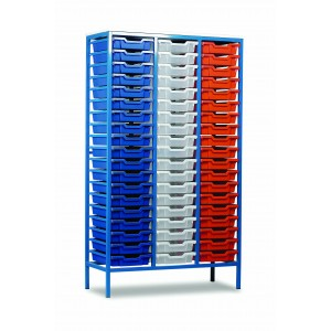 METAL TRAY STORAGE UNITS