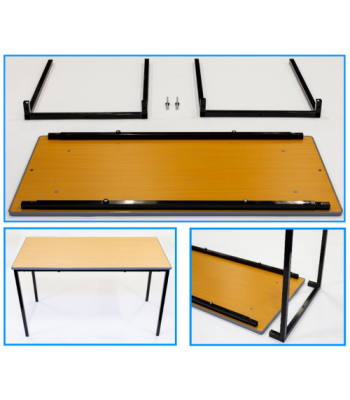 FLAT PACK CLASSROOM TABLES