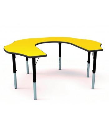 HEIGHT ADJUSTABLE TEACHERS FLOWER TABLES