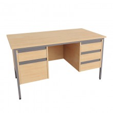 Galaxy Double Pedestal Desks