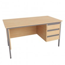 Galaxy Single Pedestal Desks
