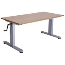 CRANK HANDLE HEIGHT ADJUSTABLE TABLES