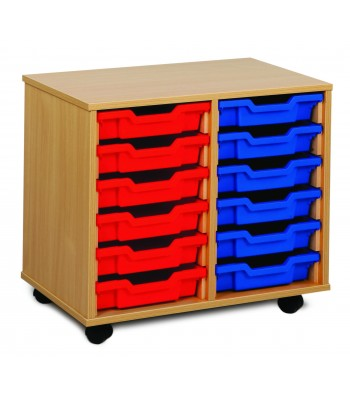 2 COLUMN TRAY STORAGE UNITS