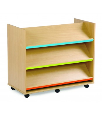 BUBBLEGUM DOUBLE SIDED LIBRARY UNIT