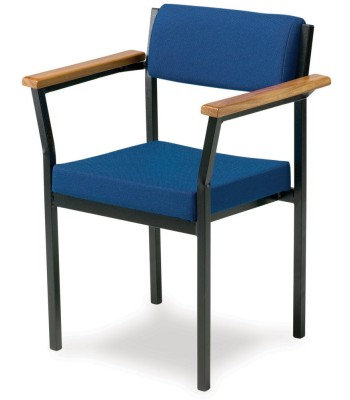 HEAVY DUTY SIDE ARMCHAIR