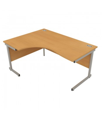 Satellite Cantilever Frame Crescent Desk