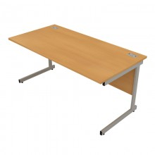 Satellite Cantilever Frame Rectangular Desk