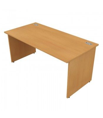 Satellite Panel End Rectangular Desk