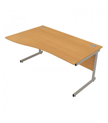 Satellite Cantilever Frame Wave Desk