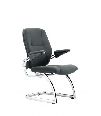 CANYON CHROME VISITORS CHAIR