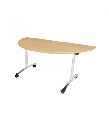 TILT TOP SEMI CIRCULAR TABLES