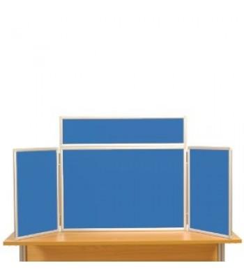ALUMINIUM MIDI DESK TOP DISPLAY STAND