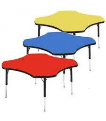 HEIGHT ADJUSTABLE CLOVER TABLES