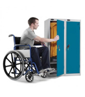 JUNIOR & DISABILTY LOCKERS 380 x 460mm (18'' DEEP)