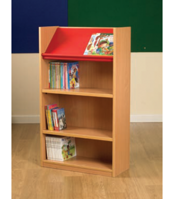 NEXUS DOUBLE SIDED DISPLAY TOP BOOKCASE