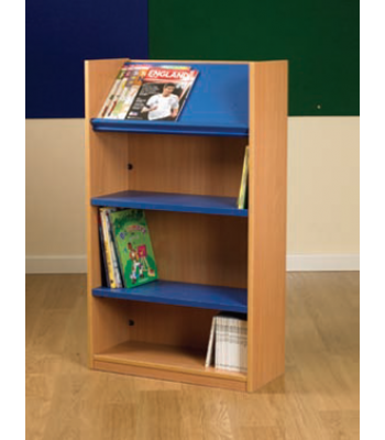 NEXUS SINGLE SIDED DISPLAY TOP BOOKCASE