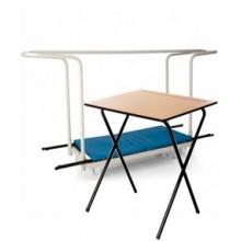 40 Folding Exam Desks & Trolley Bundle - £745.00