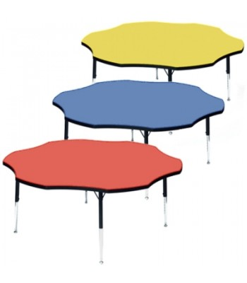 HEIGHT ADJUSTABLE FLOWER TABLES