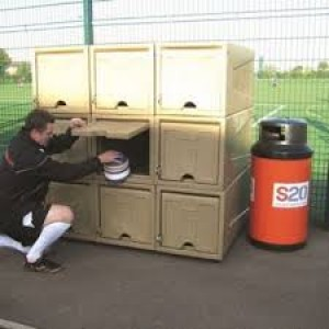 OUTDOOR SPORTS EQUIPMENT STORAGE