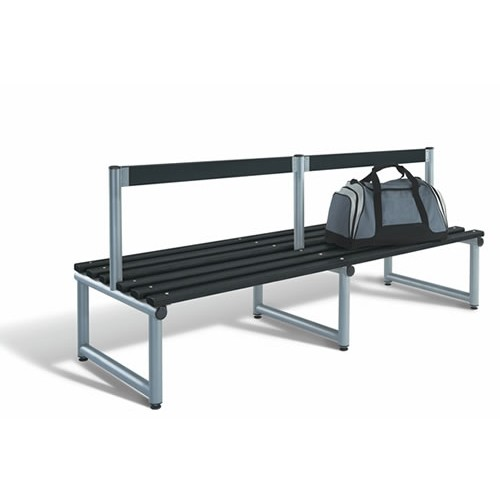 Double Sided Locker Room Seating