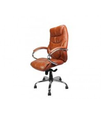 SANDOWN High Back Leather Faced Executive Chair