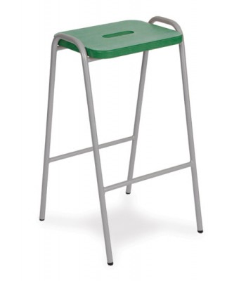 COLOUR STAINED MDF TOP STOOLS